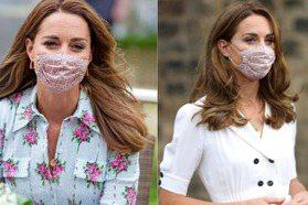 凱特王妃的口罩時尚超浪漫!清新洋裝X碎花口罩X舊衣重穿優雅又親民