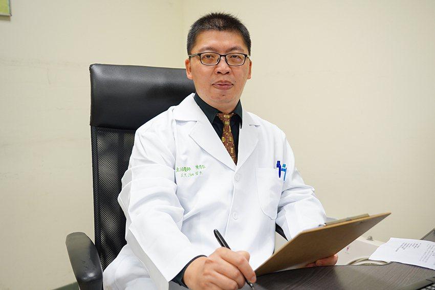 聯新國際醫院精神科主治醫師陳修弘。 聯新國際醫院/提供