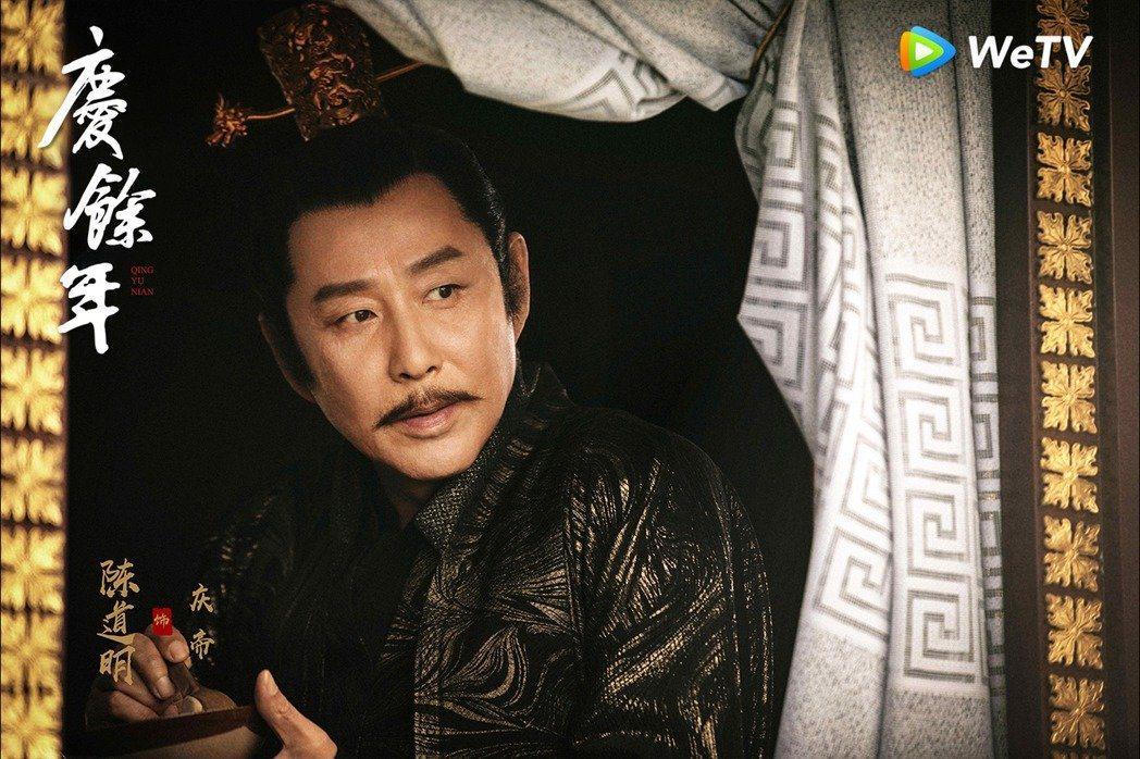 陳道明是大陸頂級演員。圖/WeTV提供