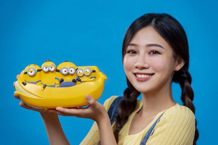「小小兵萬用置物籃」自8月12日開賣。圖/麥當勞提供