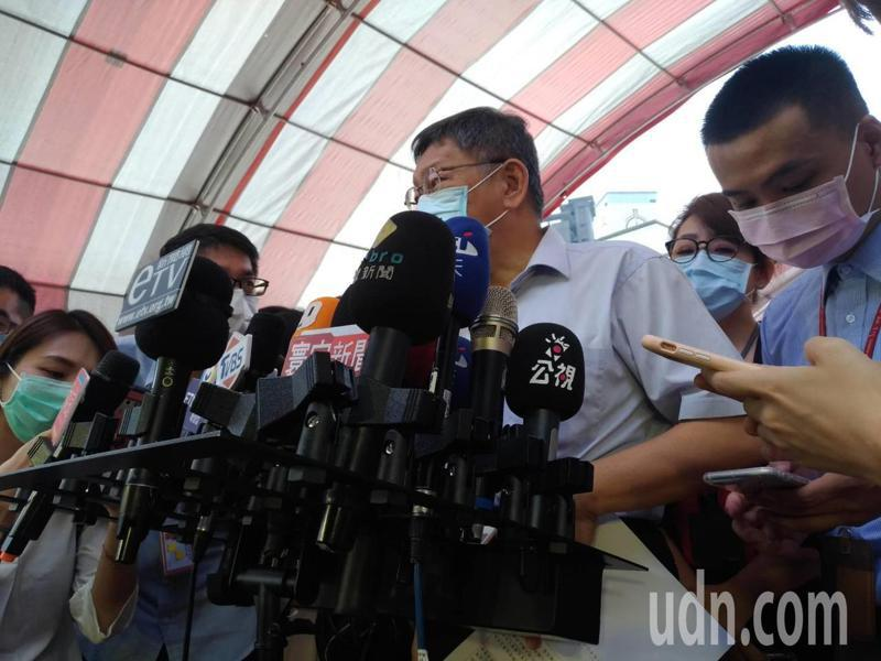 黎智英等7人在港被捕,台北市長柯文哲今天表示,北京政府要搞清楚,這樣只會讓香港局勢惡化,而且越來越糟糕。記者林麗玉/攝影