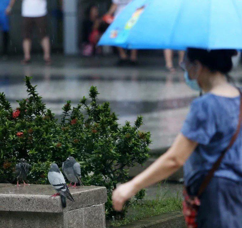 最新雨量預測出爐。聯合報系資料照
