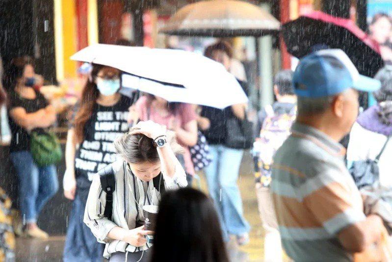 針對今年第6號颱風米克拉,中央氣象局最新風力預測出爐。聯合報系資料照