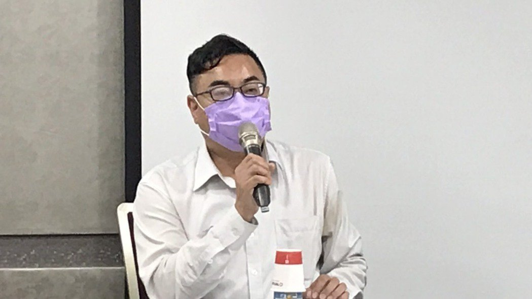 大同法務長趙安今(10)日主持記者會。 記者蔡銘仁/攝影