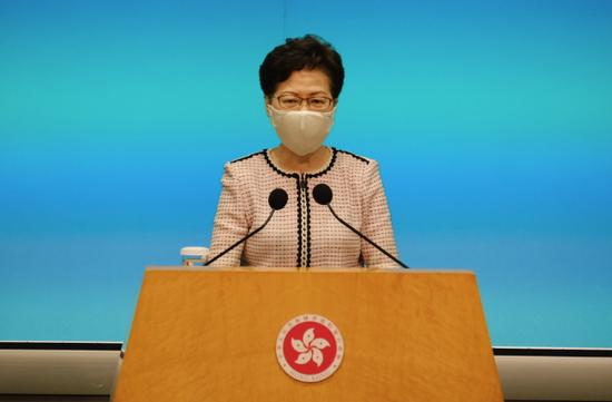 大陸外交部10日宣布制裁11名美方人士,香港政府隨後回應,全力支持大陸對美方採取反制措施,並會全面配合執行。(圖/取自新浪網)
