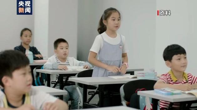 大陸大部分省市的中小學和幼稚園秋季開學時間為9月1日。(央視網)