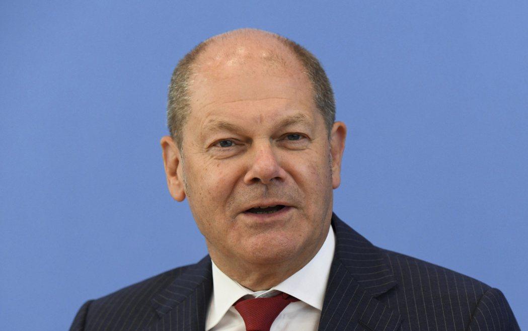 德國財長蕭茲獲社民黨提名,計劃在明年大選角逐總理職位。美聯社