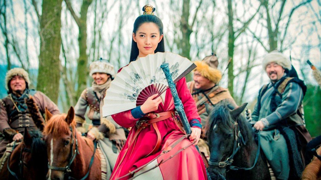 陳鈺琪演出新版「倚天屠龍記」。圖/中視提供