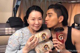 王大陸媽媽「腦幹腫瘤破裂」病逝 悲痛回「謝謝關心」