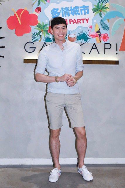王凱在「多情城市」演出富家公子「成皓」,私下自嘲是「貧民」。圖/民視提供