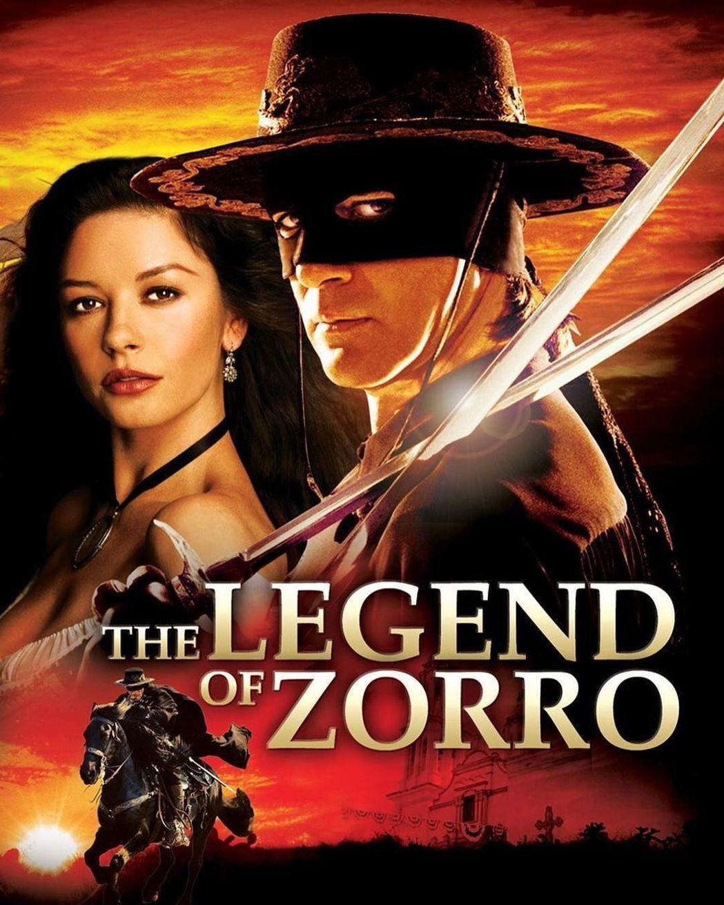 安東尼奧班德拉斯曾與凱薩琳麗塔瓊斯合作賣座動作片「蒙面俠蘇洛」。圖/摘自IG