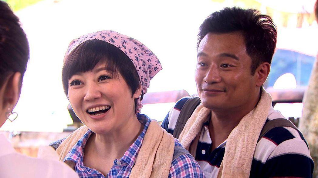 林佑星(右)與劉沛緹飾演一對牧場夫妻。圖/三立提供