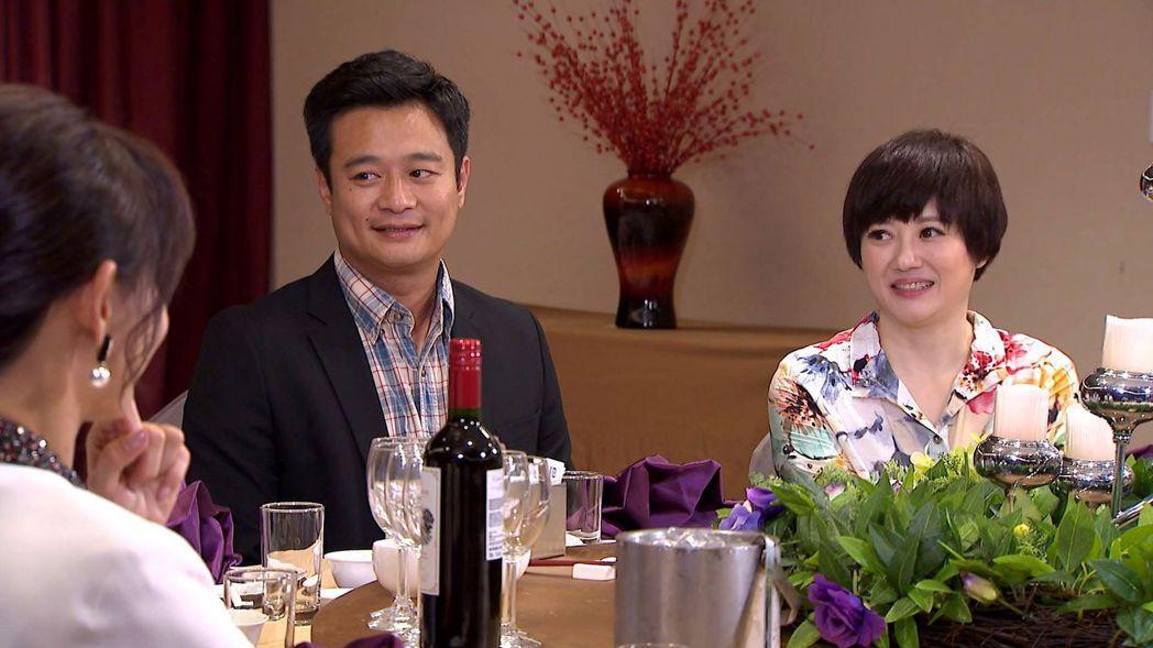 林佑星(左)與劉沛緹飾演一對牧場夫妻。圖/三立提供