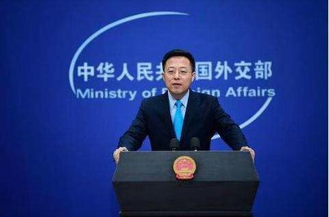 大陸外交部發言人趙立堅重申,「中方一貫堅決反對美台官方往來」。(中新社資料照片)