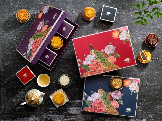 台北文華東方中秋禮盒有「星」味。圖/台北文華東方酒店提供