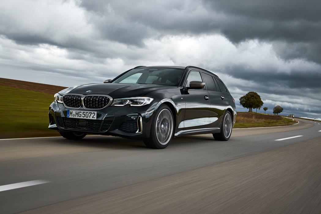 全新BMW M3 Touring可能將在2023年上市。圖為M340i xDri...