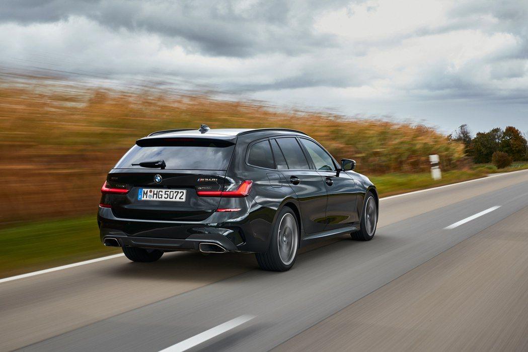 傳BMW內部將開發全新M3 Touring。圖為M340i xDrive Tou...