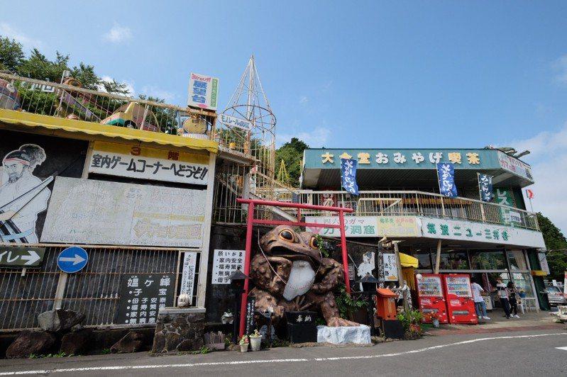 日本一間廢墟感滿滿的遊樂園,吸引不少民眾入場體驗,雖然看似是一間廢棄遊樂園,但仍然有在對外營業。圖擷自Twitter
