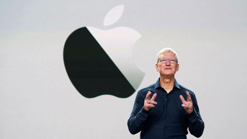 蘋果CEO 庫克(Tim Cook)。 (歐新社)