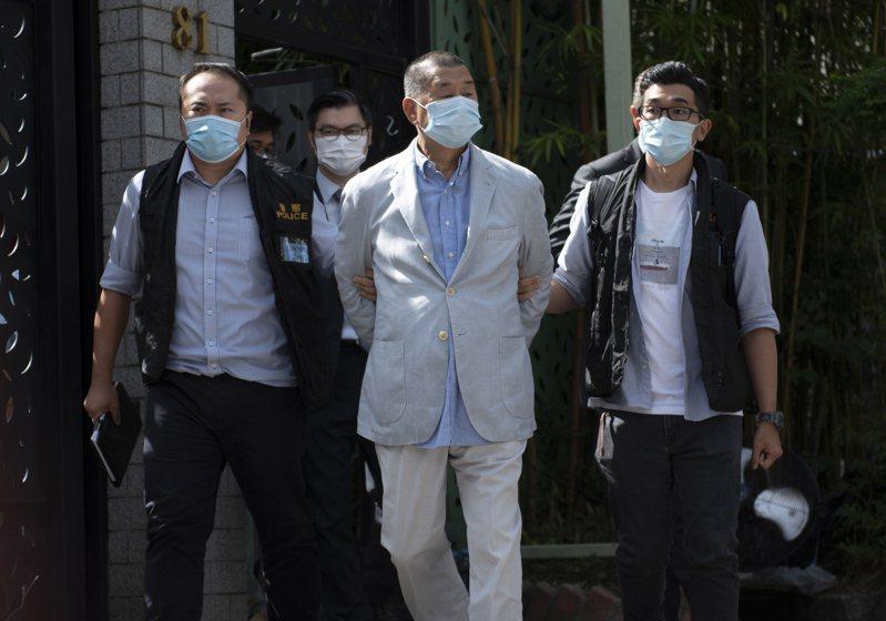 一名網友PO文提到,現在香港有《 國安法 》因此反中只會被抓,但根據媒體報導黎智英(圖中)在台灣有不少房產,所以他認為黎智英若是移民台灣應該會很吃香。  歐新社