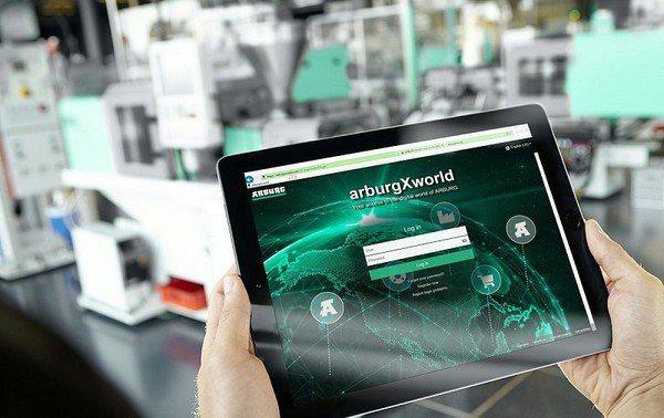 圖4 : ARBURG早在2019年布局該公司數位化模組解決方案,已建立全新入口網站「arburg X world」(source:www.eppm.com)