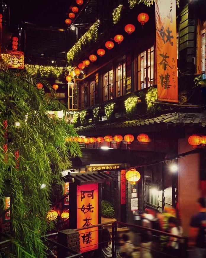 ▲七夕情人節打卡景點-夜遊九份。(圖/攝影者:jiying_tseng授權提供, Instagram)