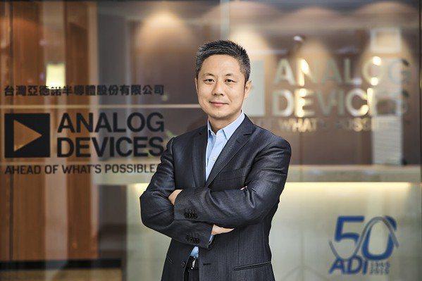 圖一 : ADI亞太區總經理趙傳禹