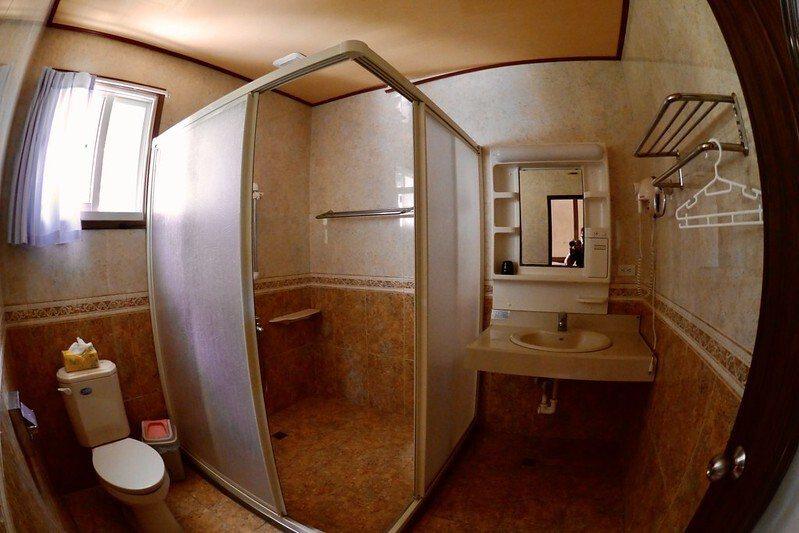 衛浴間,常是乾燥的,通風還不錯。