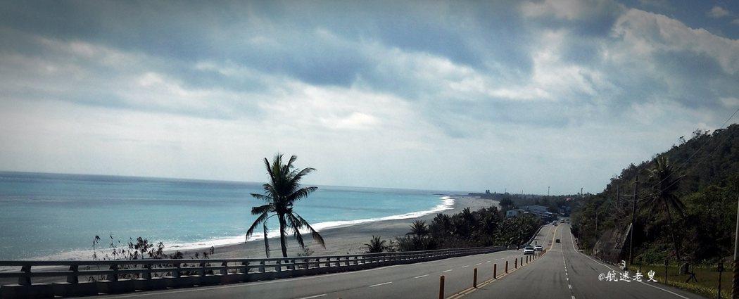 駕車長途旅行走完這段濱海公路, 面前這美麗景色下,讓人無法全神貫住安全的走完這條公路。