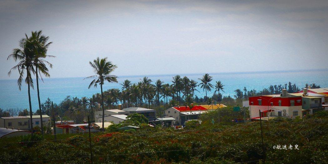 濱臨太平洋,太麻里跟太平洋好像沒有距離, 走進這裡會有忘記在城市中的感覺。