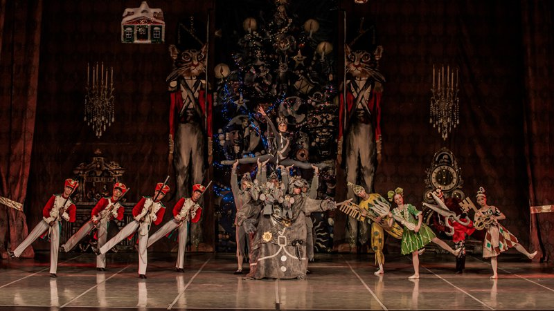 莫斯科古典芭蕾經典舞碼《胡桃鉗》。圖/聯合數位文創提供