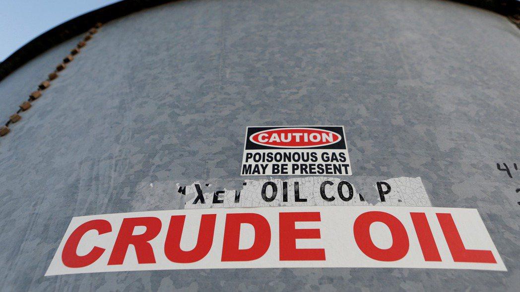 紐約原油期貨價格10日收盤創一周最大漲幅。(圖/路透)