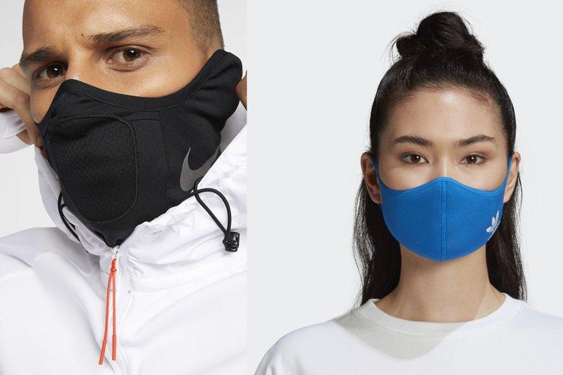 圖/摘自Nike、adidas官網