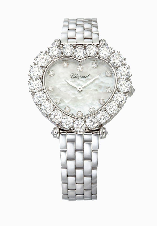 蕭邦L'Heure Du Diamant系列鑽表,274萬元。圖/蕭邦提供