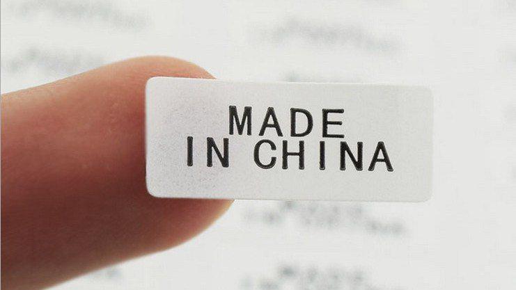 美傳出將要求香港製進口品,未來須貼「中國製」標籤。 (圖/取自網路)