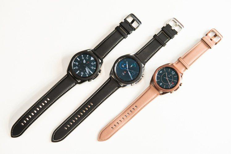 Samsung Galaxy Watch3共推出45mm星幻黑、星幻銀及41mm...