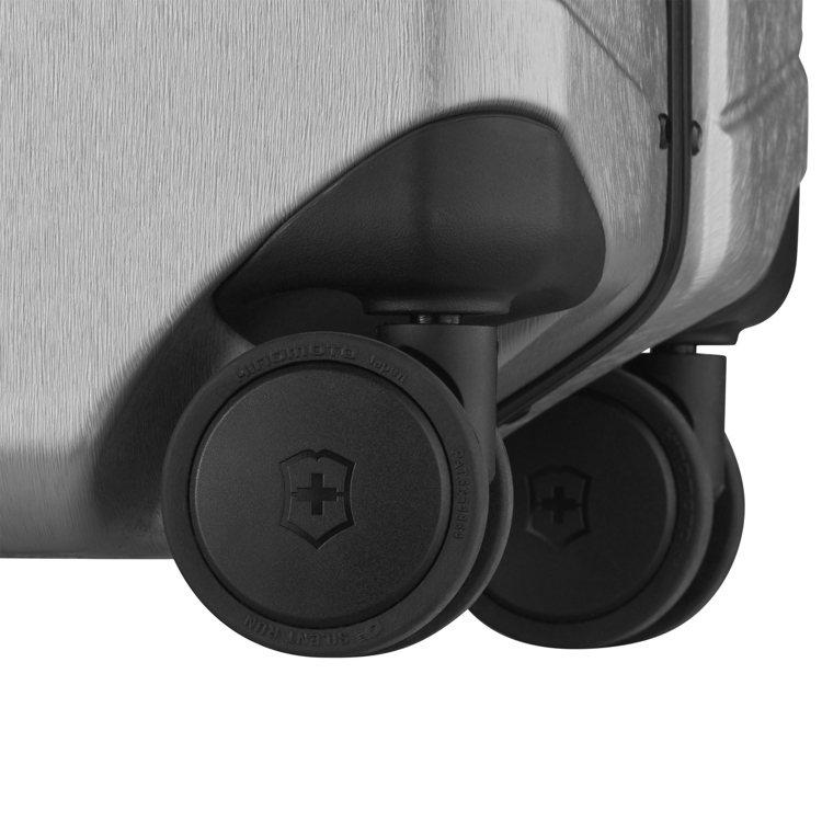 搭配超靜音6毫米Hinomoto雙滾輪,可360°靈活旋轉。