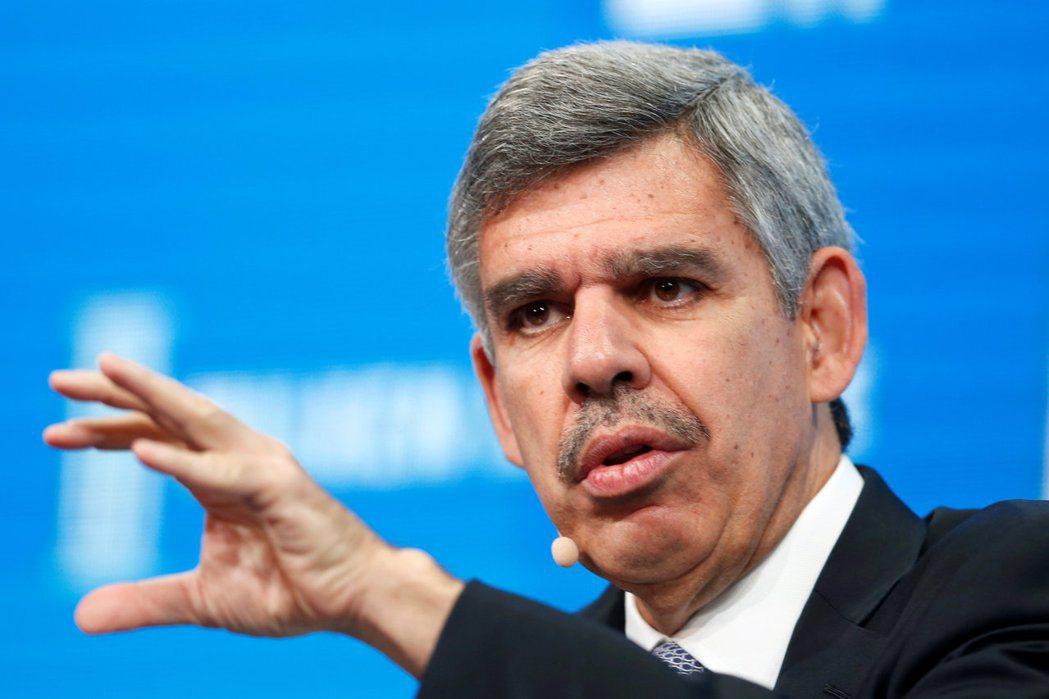 安聯集團首席經濟顧問伊爾艾朗警告說,企業破產潮是股市這波反彈的最大威脅。(路透)