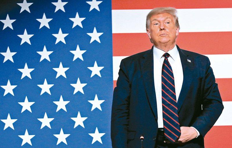 「經濟學人」預測,川普在大選的票數勝過拜登的機率僅為百分之二,贏選舉人團票的機率只有一成。 (路透)