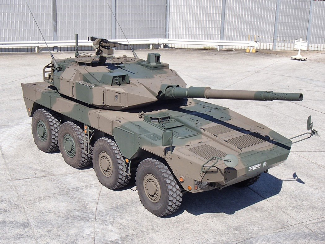 日本16式步兵戰鬥車。 圖/日本防衛省