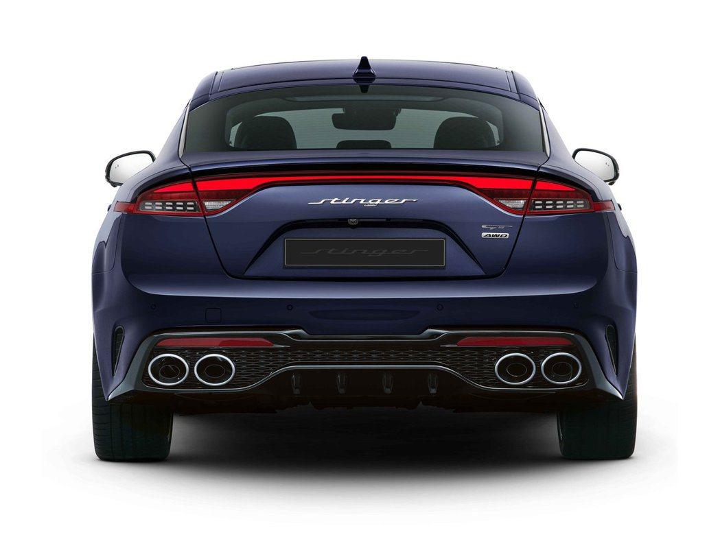 小改款Kia Stinger將於八月底率先在自家韓國發售。 摘自Kia