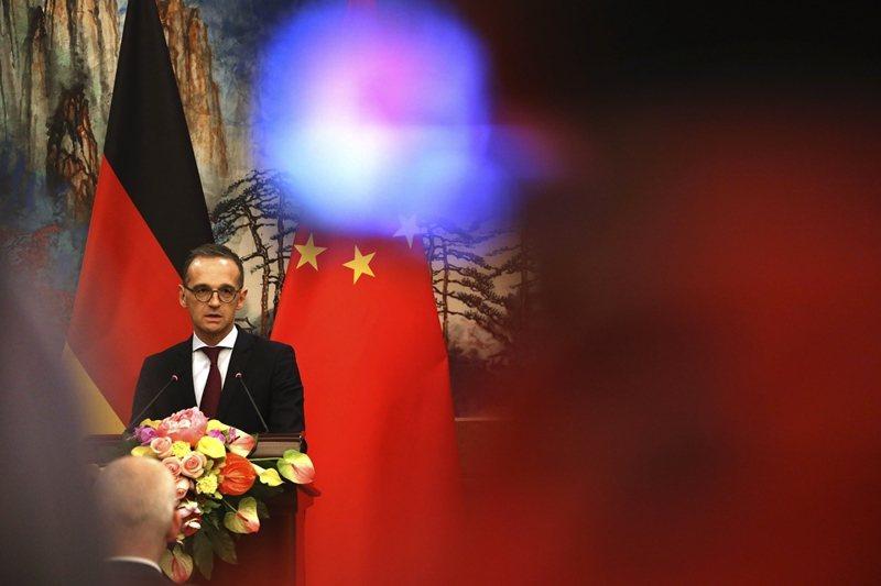 德國外長馬斯(Heiko Maas)宣布中止香港引渡協議,顯示對中共態度已經改變。 圖/美聯社