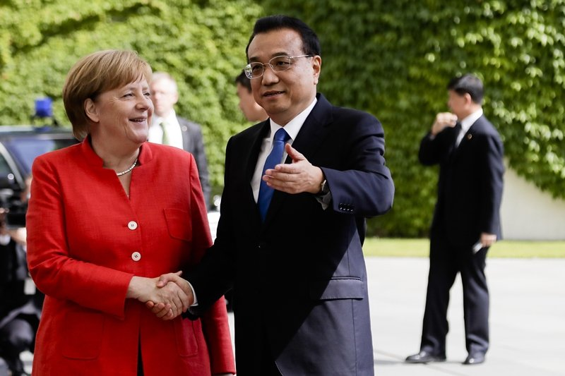 德國明年大選,梅克爾將退出政壇,德國政壇很可能產生重大變化,包括改變對中政策。 圖/美聯社