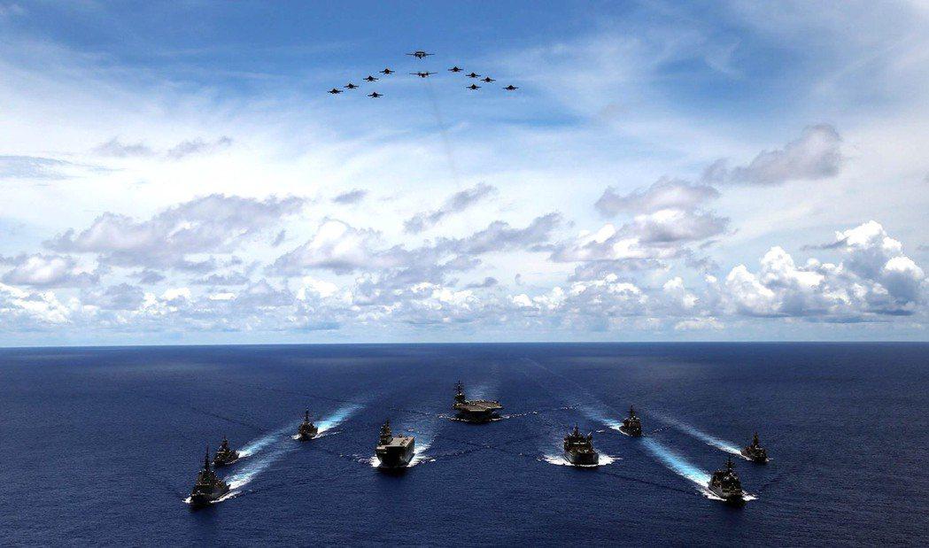 在釣魚台的問題上,日本的立場其實是不可能退讓。 圖/日本海上自衛隊