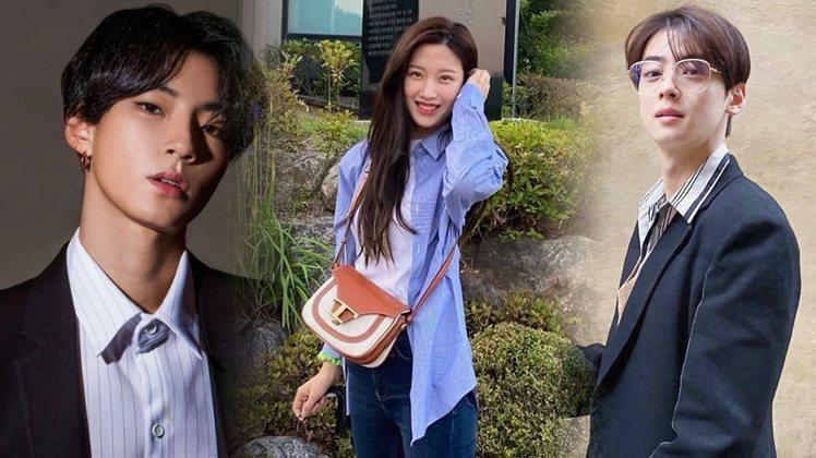 《女神降臨》劇版由黃仁燁、文佳煐、車銀優主演。圖/擷自IG