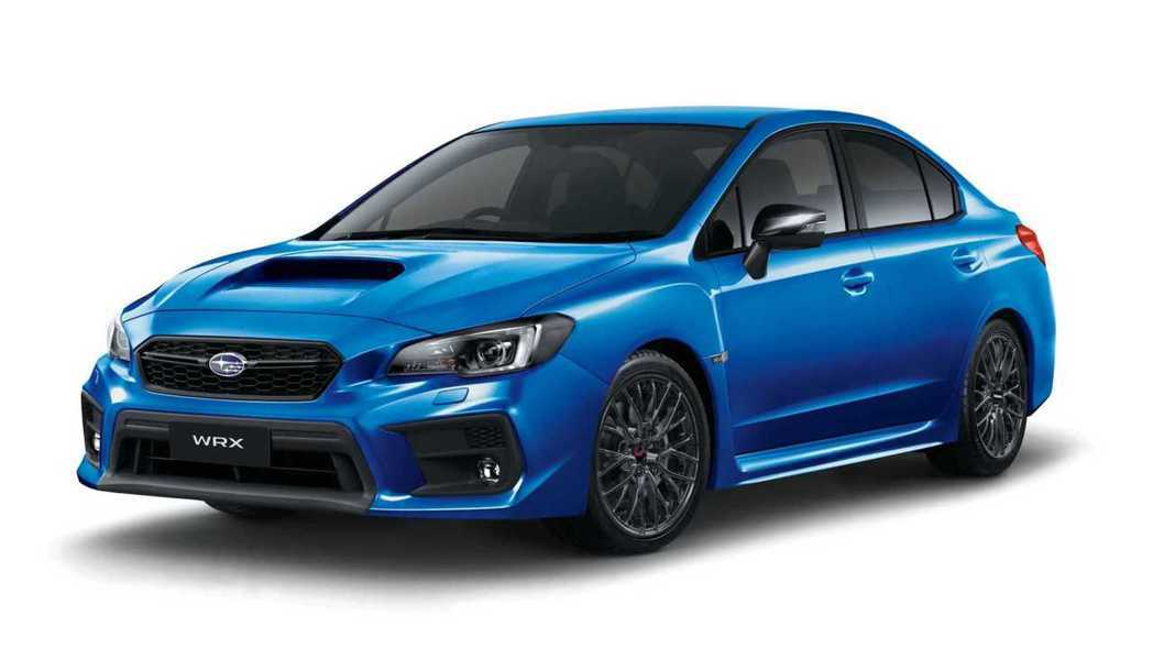 Subaru WRX Club Spec。 摘自Subaru
