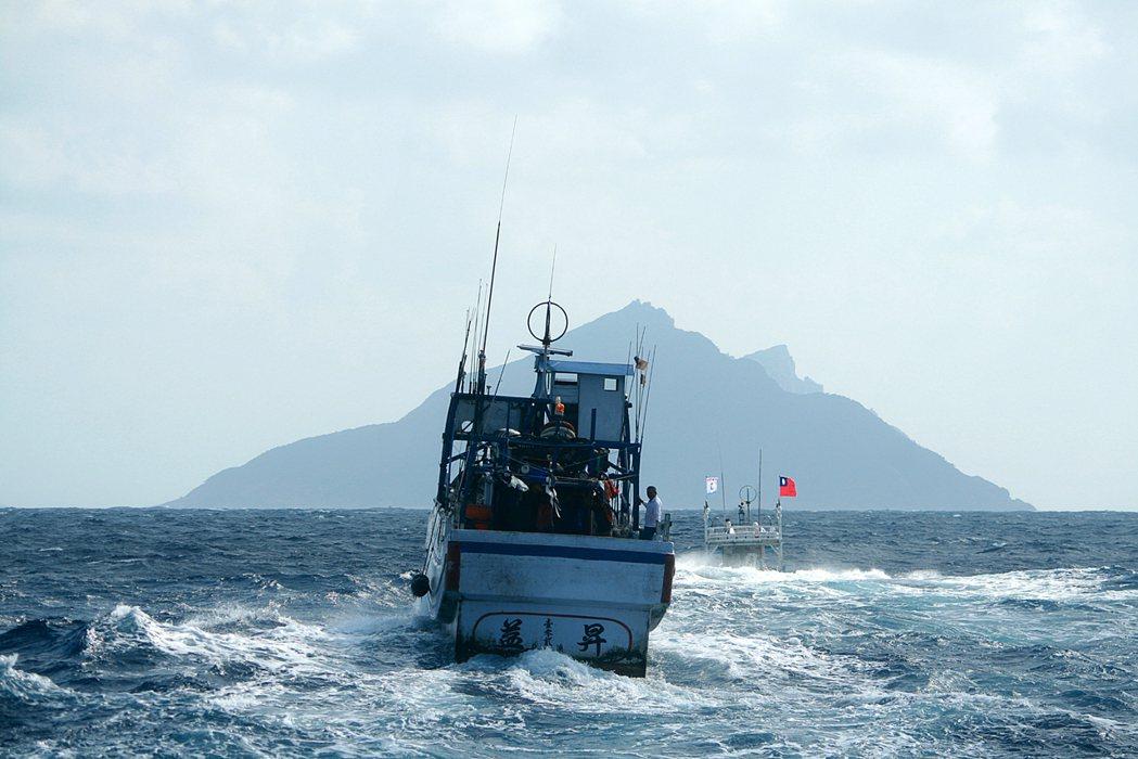 圖為台灣的保釣船。更名事件讓台日雙方有些許摩擦,但事實上對於雙方的漁業合作等,並...