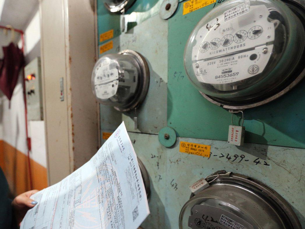 在外租屋,電費多以1度5元計算。 聯合報系資料照/記者許正宏攝影