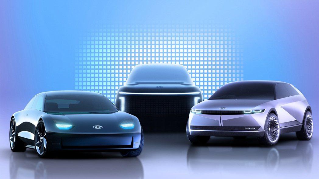 Hyundai宣布將現有的Ioniq電動車系,轉型為代表品牌的全新電動子品牌「I...