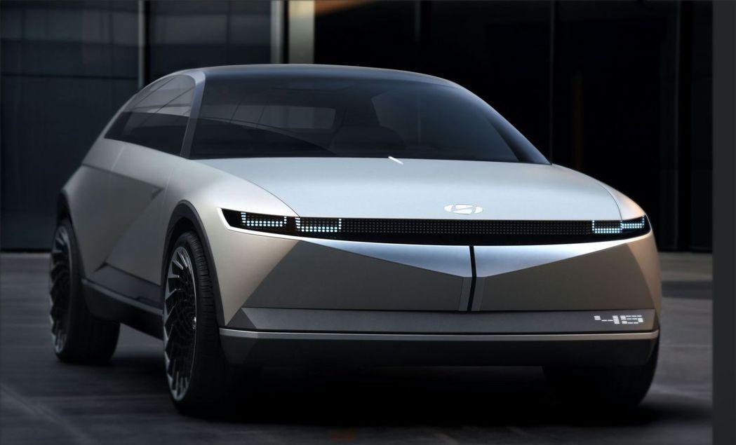 Hyundai 45 EV Concept。 摘自Hyundai